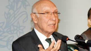 Indian lobby trying to block US' F-16s sale to Pakistan: Sartaj Aziz