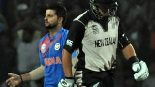 ICC T20 World Cup 2016: Watch Suresh Raina's remarkable run out against New Zealand