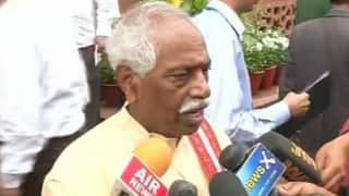 'Never mentioned Rohith Vemula's name' in letter to HRD ministry: Bandaru Dattatreya