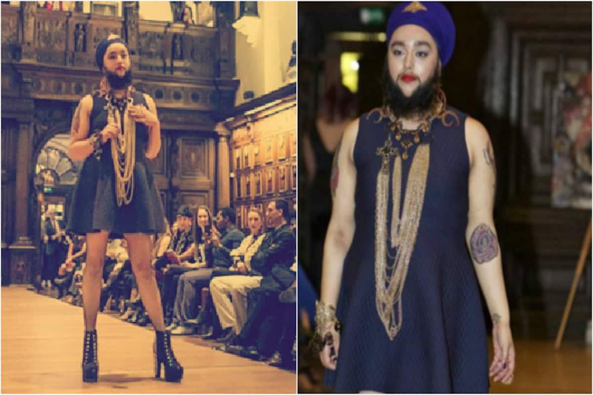 Harnaam Kaur: Bearded model creates history by walking the ramp ...