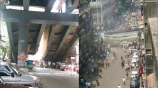 Kolkata: 10 dead in bridge collapse near Ganesh Talkies; BJP MP Babul Supriyo holds TMC responsible for accident