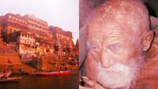 उत्तर प्रदेश के वाराणसी में रहता 179 साल का बुढा शख्स