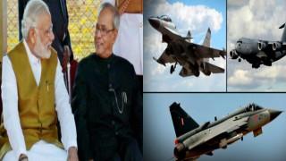 आयरन फिस्ट 2016:  पीएम मोदी और राष्ट्रपति की मौजूदगी में आज वायु सेना ने दिखाई अपनी ताकत, देखें वीडियो