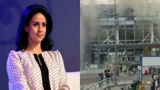 Gul Panag's husband at Brussels airport, secure