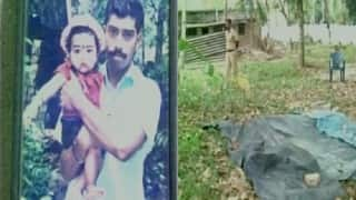 Congress worker Sunil Kumar hacked to death in Kerala by CPM youth wing DYFI activists