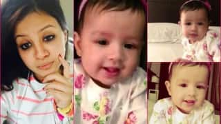 MS Dhoni's daughter Ziva in the most adorable video ever!