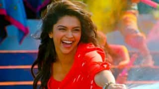 Deepika Padukone in bhangra-mood on xXx set