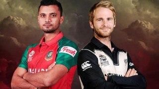 टी-20 विश्व कप : बांग्लादेश के सामने न्यूज़ीलैंड ने रखा 146 रनों का लक्ष्य