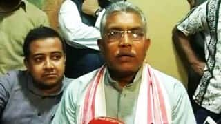 Bengal BJP Dilip Ghosh chief defends calling Jadavpur University female students 'shameless'
