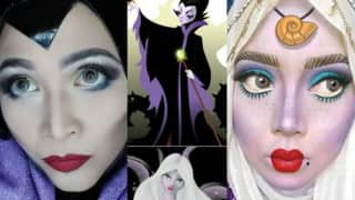 Malaysian Artist Saraswati on Using Her Hijab to Transform into Disney Princesses