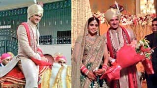 Indian cricketer Mohit Sharma marries girlfriend Shweta: See Wedding pictures of beautiful couple