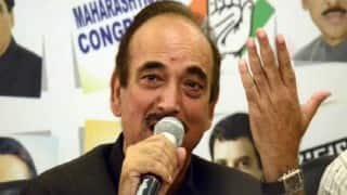 Ghulam Nabi Azad compares RSS with IS, BJP demands apology
