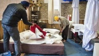 Spokane, Washington, Gurdwara Vandalized, Holy Book Destroyed