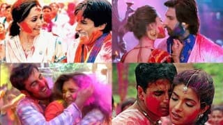 Holi 2016 songs special: Aaj Na Chhodenge, Lahu Munh Lag Gaya - Top 5 Bollywood songs to groove to on this joyous day!