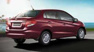New Honda Amaze Facelift 2016 Launched in India: Price in India, Car Features and Specifications