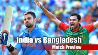 India vs Bangladesh World T20 2016 Preview: India firm favourites against demoralised Bangladesh