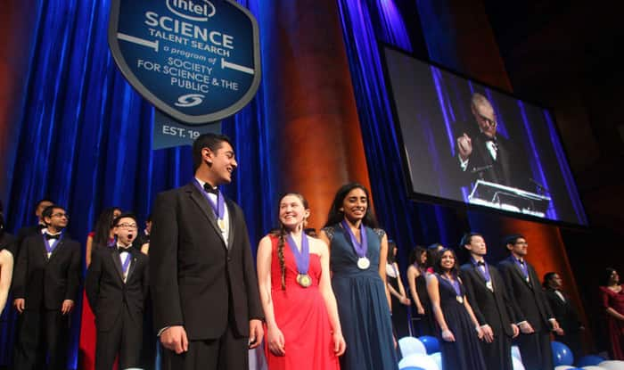 Does the Intel Science Talent Search competition allow us to submit our research paper as a proposal?