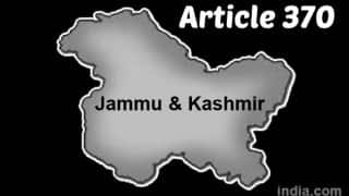 High Court reserves order on plea challenging validity of Article 370