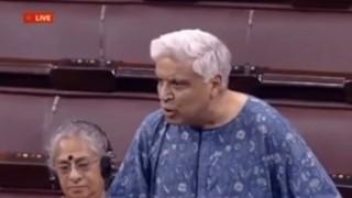 Javed Akhtar chants Bharat Mata Ki Jai in Parliament; takes a swipe at Asaduddin Owaisi (Watch full video)