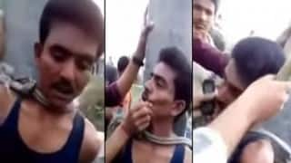 Muslim man thrashed, forced to chant 'Jai Shri Ram'; video goes viral