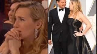 Oscar Awards 2016: Kate Winslet in tears on seeing Leonardo DiCaprio finally win the Oscar!