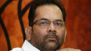 Pakistan JIT visit: Didn't ask for Congress' suggestion, says Mukhtar Abbas Naqvi
