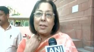 Najma Heptullah raps Asaduddin Owaisi: 'Will say Bharat Mata ki Jai even if knife is put on my throat'