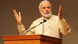 Narendra Modi targets Congress, pays back Rahul Gandhi in equal measure