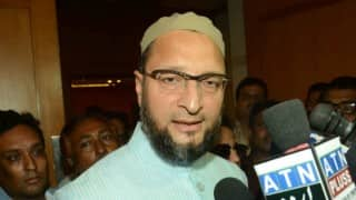 Ram Shankar Katheria went to create communal mayhem in Agra: Asaduddin Owaisi