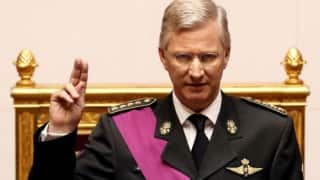Belgium to respond to threat firmly, calmly, with dignity after Brussels terror attack: King Philippe