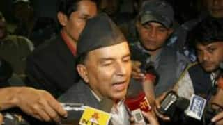 Ram Chandra Poudel files candidacy for Nepali Congress president's post