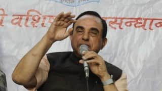 Subramanian Swamy demands P Chidambaram's arrest under National Security Act
