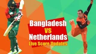 BAN won by 8 runs | Bangladesh vs Netherlands, Live Cricket Score Updates of ICC T20 World Cup 2016: NED 145/7 (Target 154) in 20 Overs