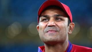 Singing was Virender Sehwag's mantra for keeping focus while batting