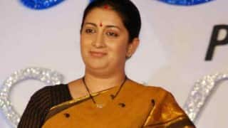 Smriti Irani announces benefits for women, differently-abled PhD students