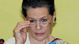 Congress President Sonia Gandhi M Karunanidhi on alliance victory in 98 seats