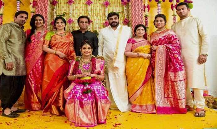 4eb571936d77 Chiranjeevi s daughter s wedding  All about Sreeja s second wedding ...