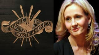 Magic in North America: J K Rowling surprises fans with four new short stories