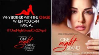 Sunny Leone 'sizzles again' in 'One Night Stand' teaser