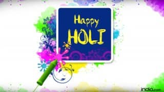 Holi 2016 Wishes: Best Holi SMS, WhatsApp & Facebook Messages to send Happy Holi greetings!