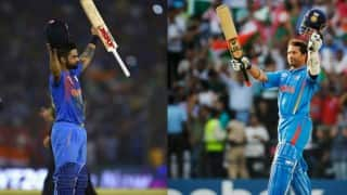 Who is special Sachin Tendulkar or Virat Kohli? This Twitter conversation between Tendulkar & Kohli has the answer