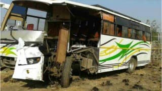 19 killed in head-on collision between bus and truck