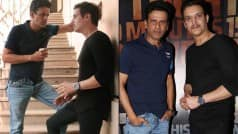 Traffic: Manoj Bajpayee and Jimmy Shergill spotted having a good laugh!