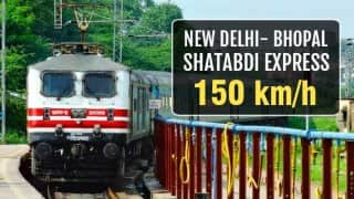 Gatimaan Express launched: A look at top 7 Super fast trains in India!