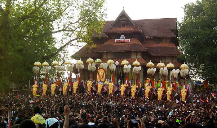 Thrissur India  city pictures gallery : Thrissur Pooram festival begins amid security, restrictions India ...