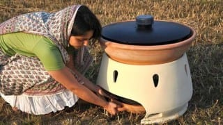 This woman designed an amazing machine to convert salt water to normal water!