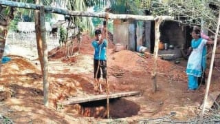 17-year old Pawan Kumar dug a well for his mother so she wouldn't have to walk for water daily!