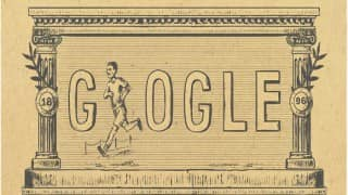 Google Doodle marks 120th anniversary of first modern Olympic Games