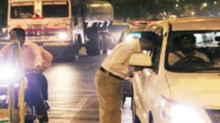 Goa Police undertake special drive against drunken driving