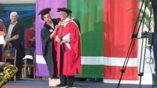 Durban University of Technology confers honorary doctorate on Ahmed Kathrada